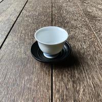 茶托 桟俵象谷塗 7.5cm