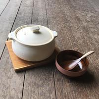 耐熱土鍋 黒/白 <馬場>