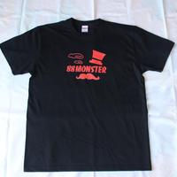 Gentleman Tシャツ 黒/赤
