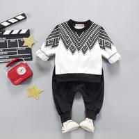 送料無料 black×white★set up  トップス+ボトムス