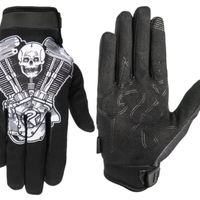 "UNKNOWN Industries BLACK ""MOTOR"" GLOVE"