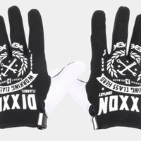 DIXXON WORKING CLASS GLOVES - BLACK & WHITE