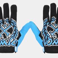DIXXON PARTY CREST GLOVES - BLUE