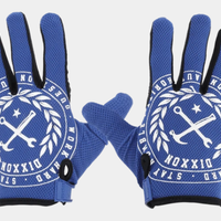 DIXXON CRESTED GLOVES - BLUE