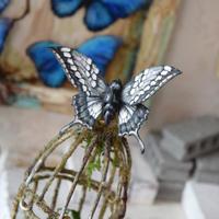 蝶のマグネット モノクローム monochrome.col 2Ssize
