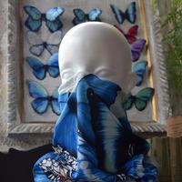 僕の好きな蝶と蛾総柄フェイスマスク