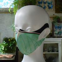 オナガミズアオのマスク