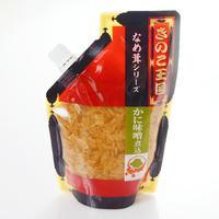 【北海道きのこ王国】 かに味噌 煮込 なめ茸 270g <br>【ご飯のお供 ご飯の友 ご飯のおとも ごはんのお友】