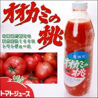 【送料込・同梱不可】 JAたいせつ オオカミの桃 有塩タイプ トマトジュース 1L×6本