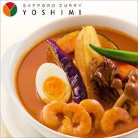 【YOSHIMI -ヨシミ-】札幌カリー えびスープ カレー 【北海道 スープカレー】