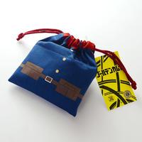 ゴールデンカムイ 巾着 バター飴 80g 第七師団 北海道産バター・砂糖使用