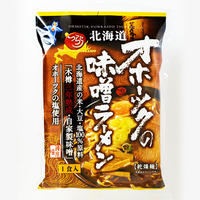 つらら 北海道 オホーツクの味噌ラーメン<br>乾燥麺 1食入  <br>オホーツクの塩使用<br>ご当地インスタントラーメン