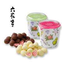 【六花亭】六花亭 甘酸っぱさがおいしい ストロベリーチョコセット