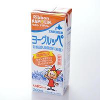 期間限定 ヨーグルッペ リボンナポリン 非炭酸 200ml×12本 【北海道 日高乳業 北海道ご当地ドリンク ローカル飲料】