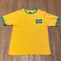 ☆2000'S -【VINTAGE】【USED】ADIDAS BRAZIL NATIONAL TEAM #10 TEE