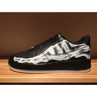 ☆BLACK ON BLACK - NIKE AIR FORCE 1 '07 SKELETON QS