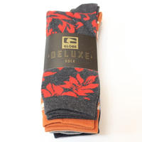 GLOBE FLOWER 3P SOCKS