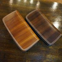 wood color Wステッチ Rロング