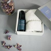 Organic aroma BLENDED MIST & smile cotton towel Gift Box set