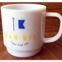 リサイクルペット材で出来たマグカップ