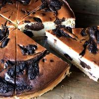 ダークチェリーチョコチーズケーキ