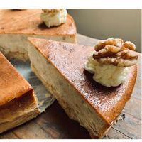 バナナウォールナッツチーズケーキ