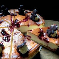 ホリディラズベリーチョコチーズケーキ
