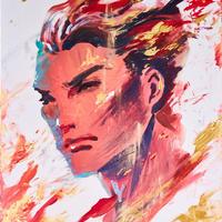 KATHMI - ART WORK:ART BATTLE Tokyo Vol.2 優勝作品