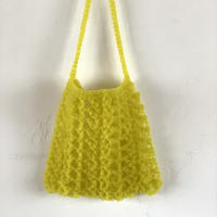 送料込み TUBEで編む透かし模様のサコッシュ -印刷済み編み図のみ