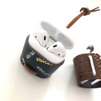 【アウトレット】abiPods/AirPods用レザーケース