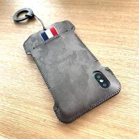 【アウトレット】iPhone XS ガンメタ迷彩リボンジャケット