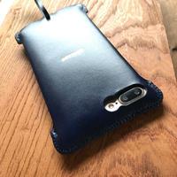 【受注製作】iPhone7 Plus sj シンプルジャケット ルガトネイビーブルー