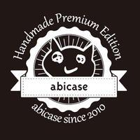 オプション:素材変更/abiBagイニシャルアルファベット
