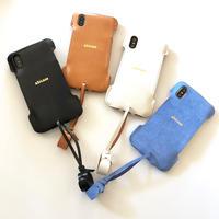 【予約受付】abicaseXWJ/iPhoneX用ウォレットジャケット