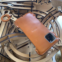 【iPhone 11 Pro Max】 ベースジャケット/キャメル