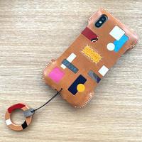 【abicaseA/02】iPhone XS ジャケット/完全1点物