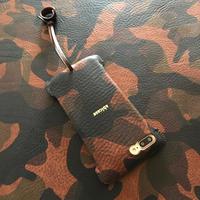 予約受付【abicasePro】iPhone8Plus  sj  カモフラ/MARRONE