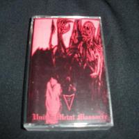 "Abigail ""United metal massacre"" 4 way split MC with R.I.P./Radiation/Oldblood"