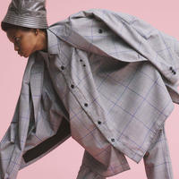 【全2色】JieDa ジエダ / CHECK OVER SHIRT チェックオーバーシャツ / Jie-20S-SH03-A