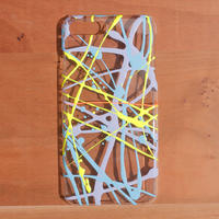 ideas and PAINTING / iPhoneケース(7plus/8plus) / 78p-blu-2