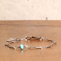NORTH WORKS ノースワークス / NICKEL 10C HOOK NAJAHO CHAIN ANKLET アンクレット / N-317