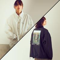 【全2色】JANESMITH ジェーンスミス / CHERYL DUNN DRAGGED COACH JACKET バックプリントコーチジャケット / 9WJK-#902L-CD