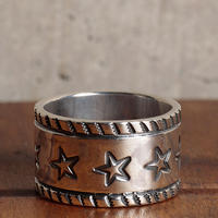NORTH WORKS ノースワークス / NORTH WORKS 900Silver Stamp Ring Star リング / W-053