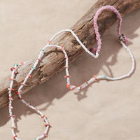 NORTH WORKS ノースワークス / SHELL&STONE BEADS NECKLACE / D-703 B