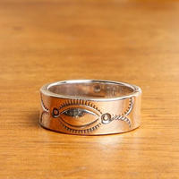 NORTH WORKS ノースワークス / 900Silver Stamp Ring 4 リング / W-023
