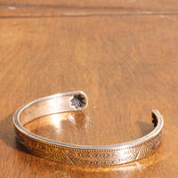 NORTH WORKS ノースワークス / MORGAN DOLLAR END SHELL BANGLE バングル / N-310