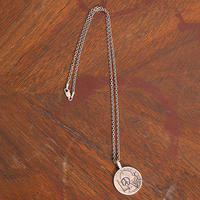 NORTH WORKS ノースワークス / 25cent NAVAJO STAMP LOVE PENDANT ネックレス / N-207