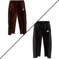 【全2色】JieDa ジエダ / ellesse LOGO LINE PANTS エレッセコラボロゴラインベロアパンツ / EM89350JD