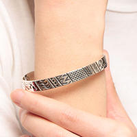 NORTH WORKS ノースワークス /  900Silver Stamp Cuff STORY / W-039