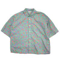 【全2色】JieDa ジエダ / LEOPARD S/S SHIRT レオパードショートスリーブシャツ / Jie-20S-SH08